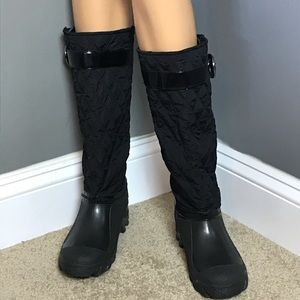 Stuart Weizman Woman's  Boots Size M Color Black